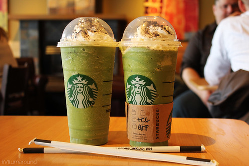 green tea frappuccino | by helenqin