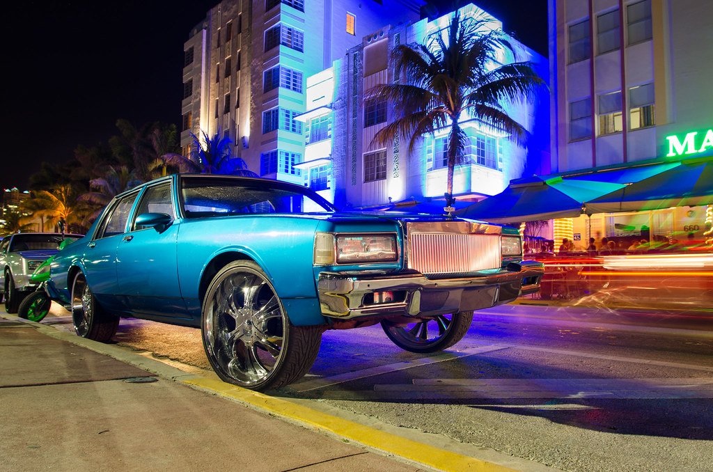 Lowrider Miami >> Les Flambeurs De South Beach Miami Floride Usa Fevrier 2 Flickr