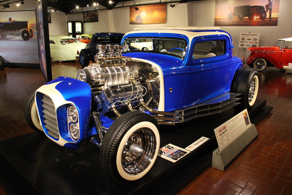 1932 Ford 3 window Coupe Hot Rod   In 1932, the Ford was ava…   Flickr