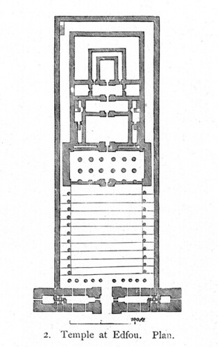 temple of horus possibly a reconstruction plan title