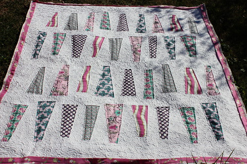 """Skittles Quilt"" bloggers festival spring 2012 