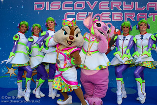 Meeting the cast and Characters of Discoveryland Celebrates! | by Disney Dan