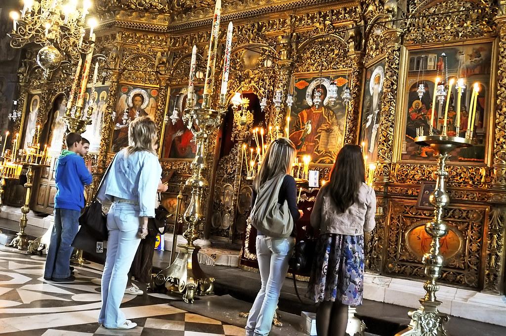 Bulgaria-0613 - Gold-plated Iconostasis