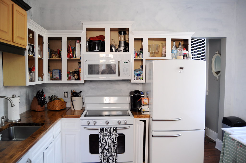 ... Kitchen Progress   By Emily @ Go Haus Go