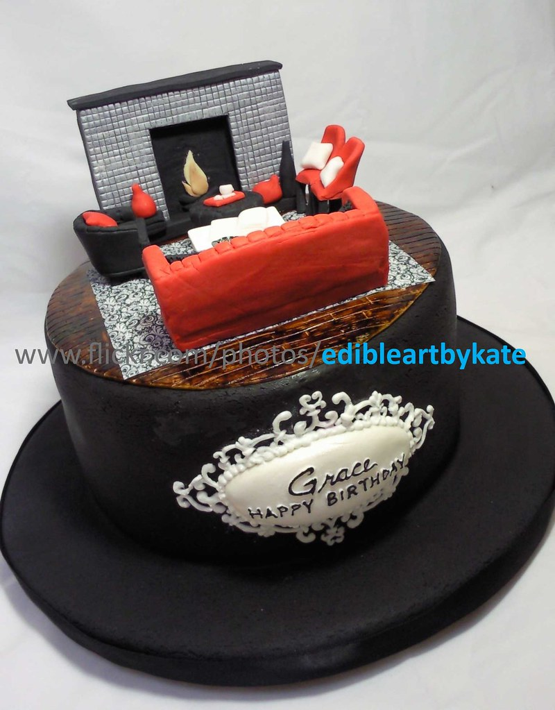 Home Design Birthday Cake