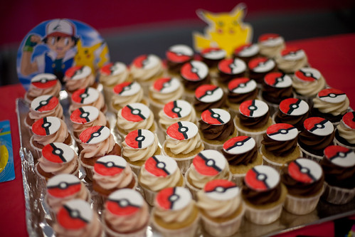 Pokeball cupcakes! | by TheNickster