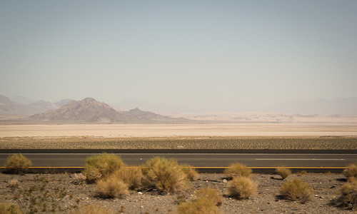 Driving the desert in Nevada | by j.crew