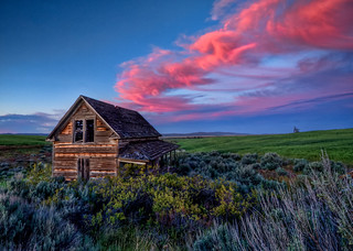 Abandoned House Sunset HDR | by Fresnatic