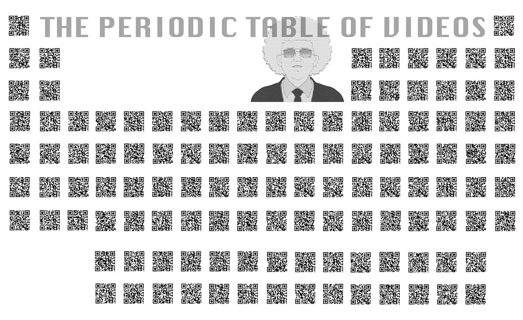Periodic table of qr codes a qr code linking to our elemen flickr periodic table of qr codes by periodic videos urtaz Images