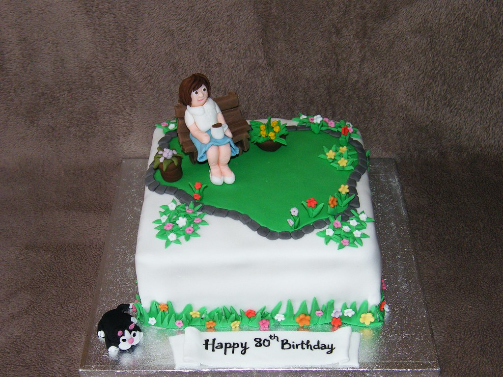 Flower garden cake | Eldriva | Flickr