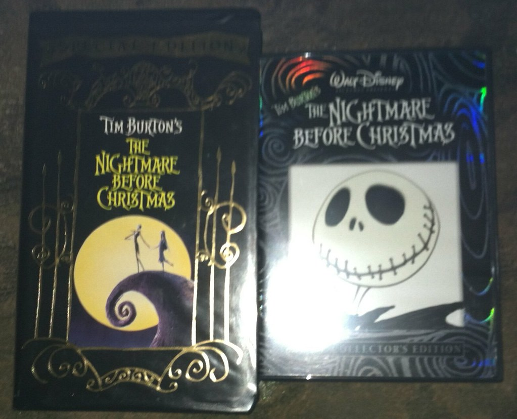 Two Different Versions of The Nightmare Before Christmas | Flickr