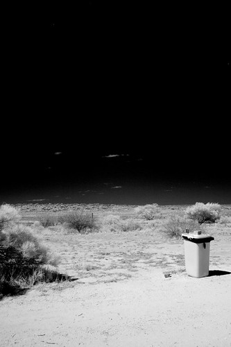 Rubbish Bin in the middle of Nowhere | by huskyte77