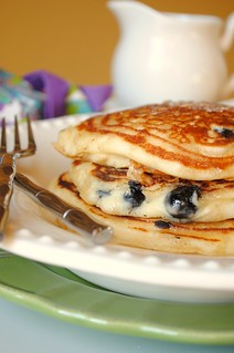 Blueberry Pancakes | by How To: Simplify