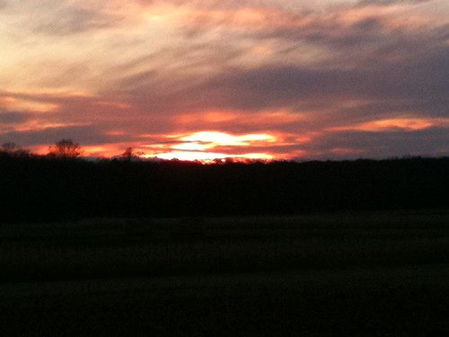 Sunset From Duffields' Farm December 5, 2010 | by Soapbox Girl (Carol Anne)