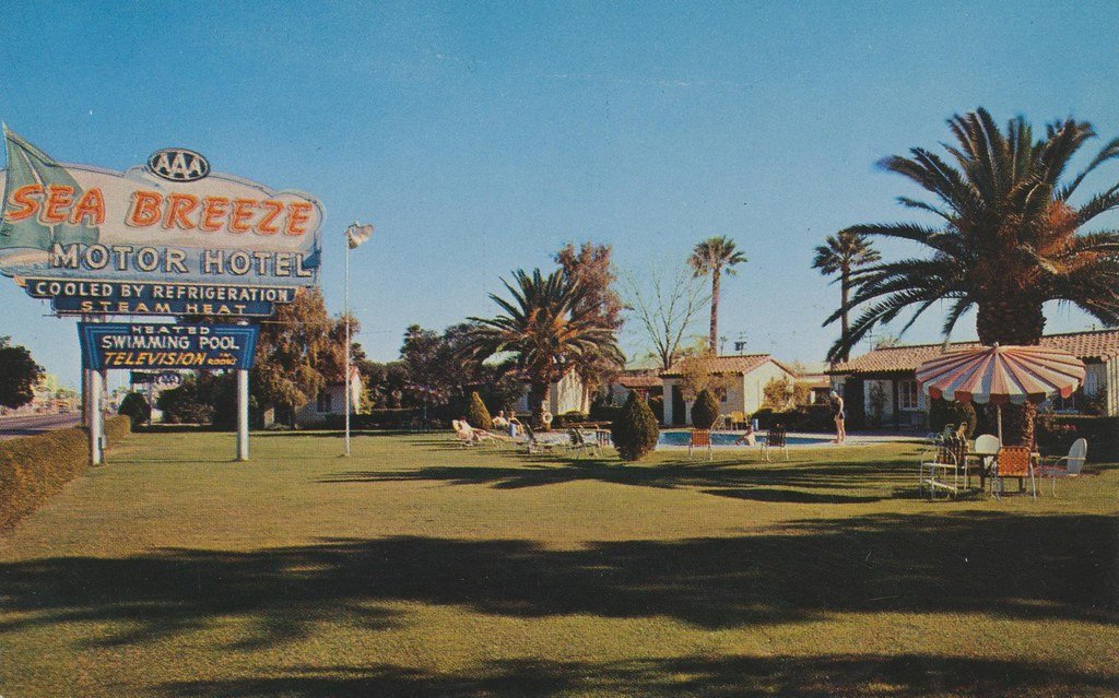 Sea Breeze Motor Hotel - Phoenix, Arizona