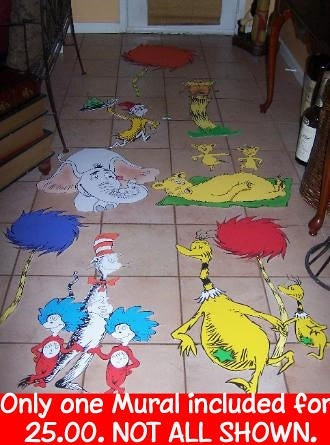 ... Dr. Seuss Wall Art Murals | By Playpatterns