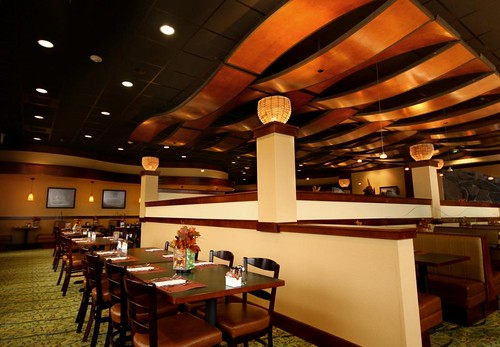 Interior restaurant décor casino des