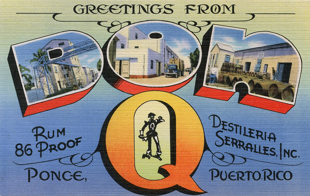 Greetings from don q ponce puerto rico large letter po flickr greetings from don q ponce puerto rico large letter postcard by shook m4hsunfo
