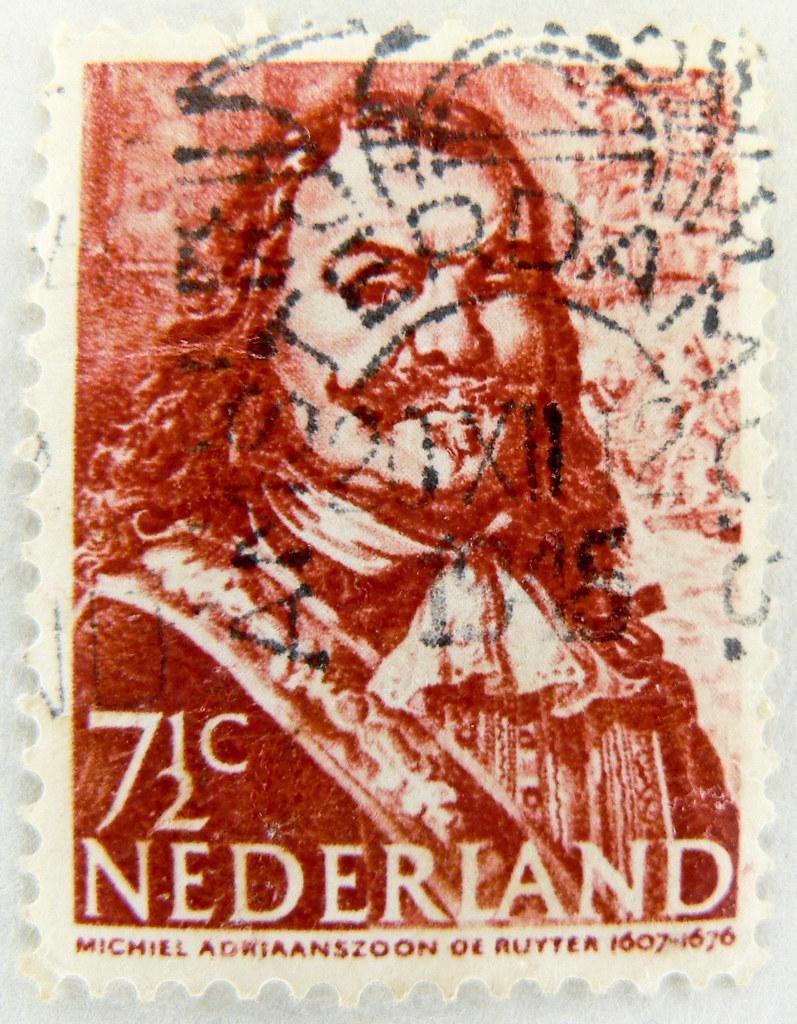 Old Dutch Stamp Netherland 75c 7 1 2c Postage Nederland Postzegel