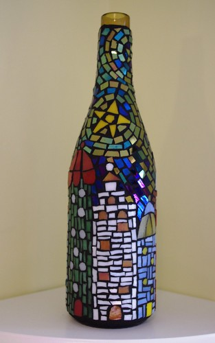 Mosaic wine bottle | by Meaco's Art Garden