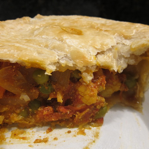 Curried Vegetable Pot Pie | by katbaro