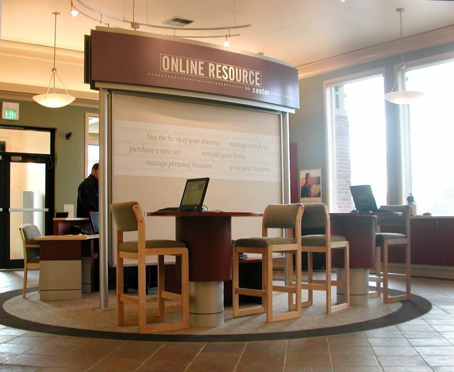 Interior Bank Decor Design | Bank Customer Service Area | … | Flickr