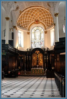 "St Clement Danes"", The Strand, WC2 Nave and sanctuary 