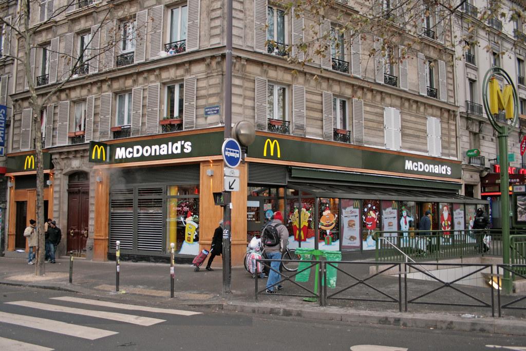 Très McDonald's Paris Porte de Clignancourt (France) | The new lo… | Flickr HS17