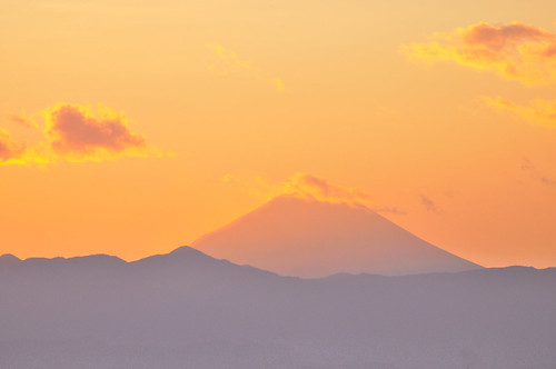 Mt Fuji of the last day of 2010 | by magicflute002