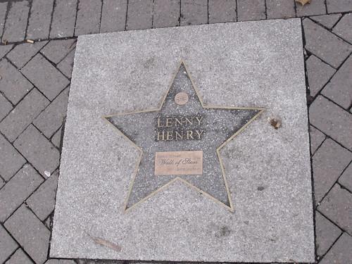 Broad Street Walk of Stars - Lenny Henry