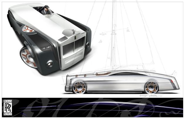 Rolls Royce Apparition Concept By Jeremy Westerlund Flickr