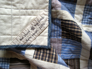 Shirting quilt label | by Dan @ Piece and Press