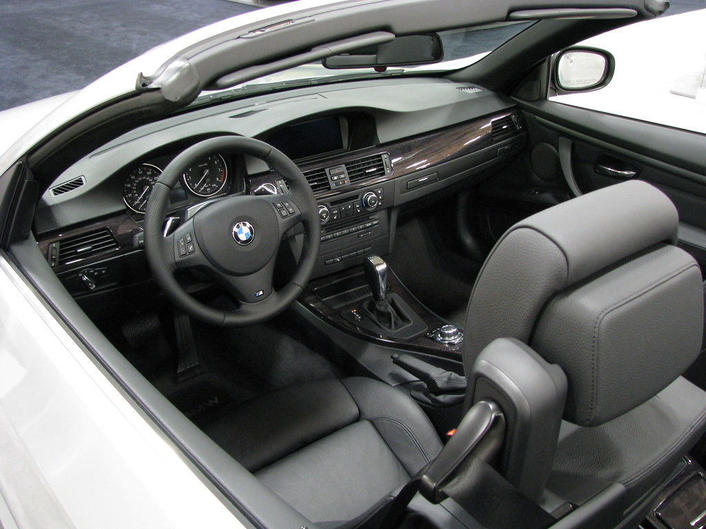BMW I Convertible View Of Interior One Thing About Flickr - 2011 bmw 328i convertible