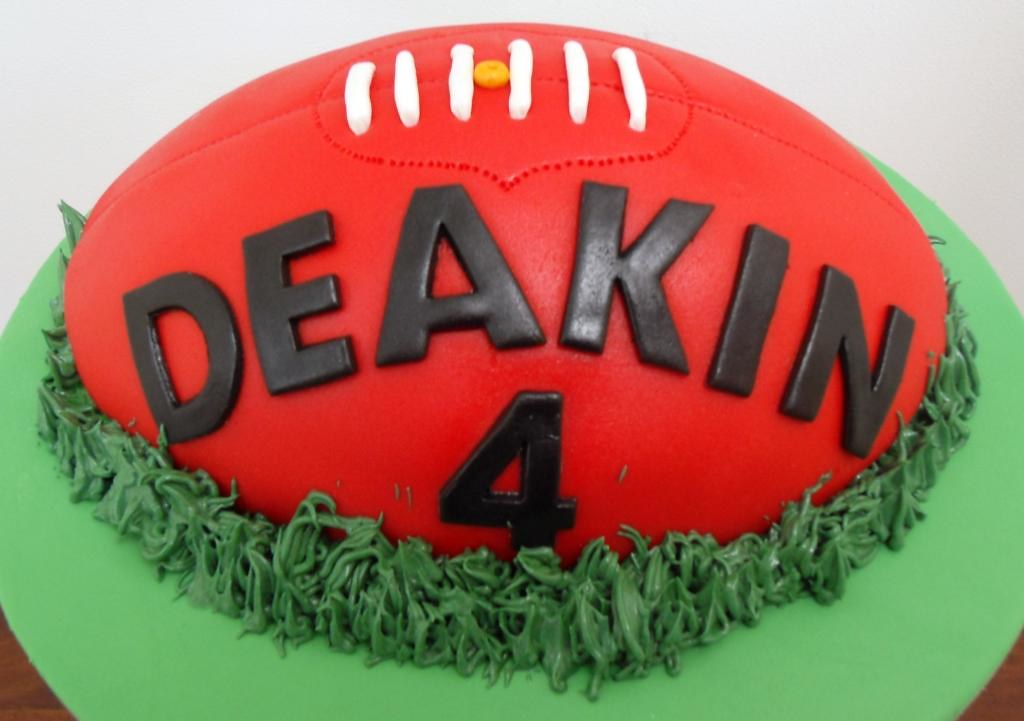 Afl Football Birthday Cake Afl Football Birthday Cake Flickr