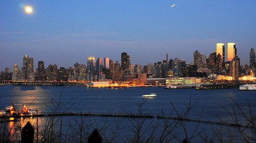 Mid Manhattan with moon | by Lydia2222