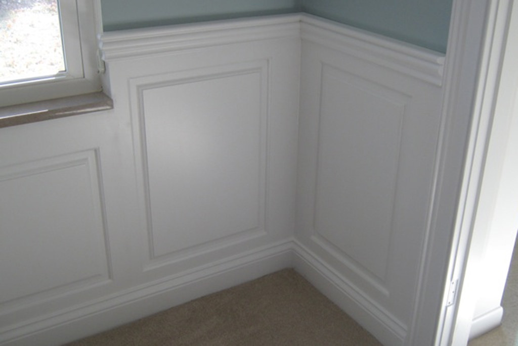 Wainscoting Panel Classic Raised Dining Room Kirkwood MO Missouri America Paneling Ideas 5624 2