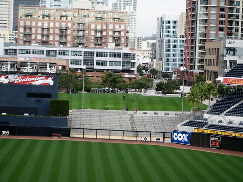 The Picnic Hill from the Press Box at Petco Park -- San Diego, CA, December 17, 2010 | by baseballoogie