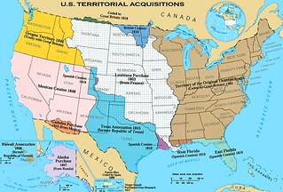 U.S. Territorial Acquisitions | by Joaquín Martínez Rosado