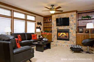 Manor Hill Lifestyle - Family Room | by www.ClaytonHomes.com