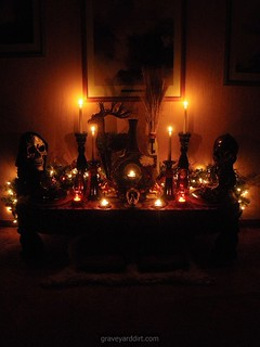Winter Altar, 2010 | by Ms. Graveyard Dirt