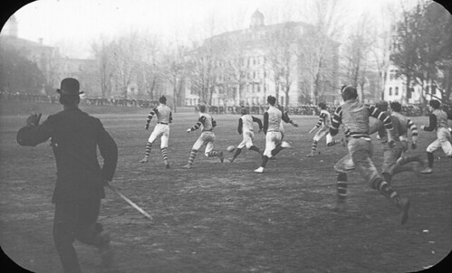 Football game on campus, McGill University, Montreal, QC, about 1900 | by Musée McCord Museum