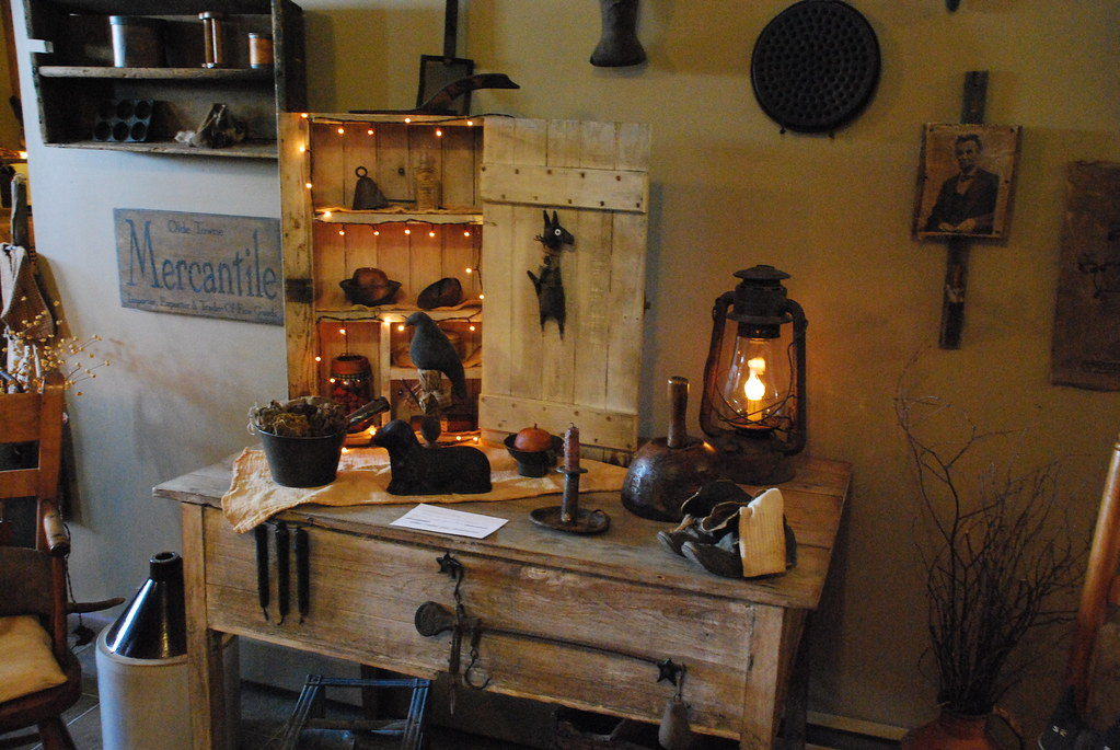 primitive living rooms.  Primitive Living Room by A Storybook Life Pearl Flickr