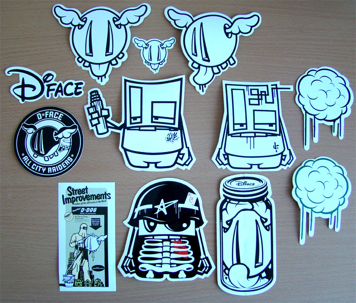 Stickers Street Art d*face - street art stickers | d*face - street art stickers | flickr