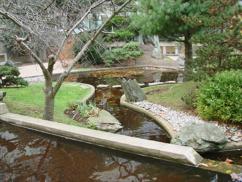 Le Jardin Japonais De Noguchi Unesco Paris Le Jardin De Flickr