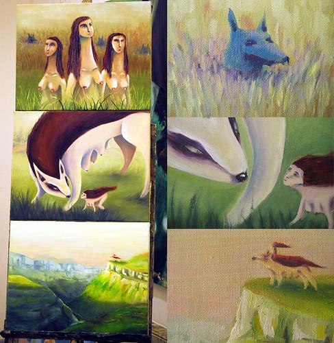 Proyecto pintura en busca del instinto sol diaz flickr - Pintura instinto ...