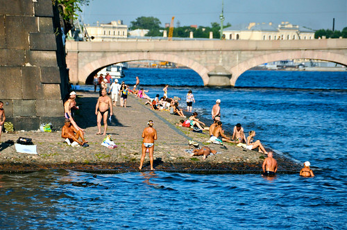 Sunbathers on the Neva | by mirbass76