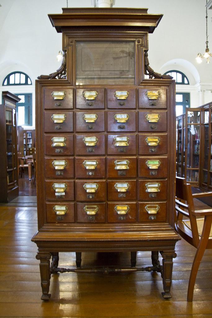Old dewey decimal system cabinet | Old dewey decimal system … | Flickr