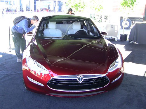 tesla model s 2012 tesla model s all electric 7 passenger flickr. Black Bedroom Furniture Sets. Home Design Ideas