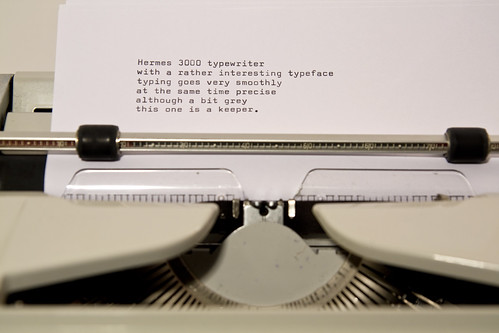 Hermes 3000 writing sample | by shordzi