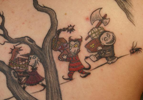 Lock Shock Barrel Tattoo Tattoo By Tim Baxley Southside Flickr
